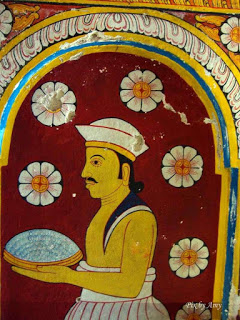 Paintings of The Temple of Tooth Relic -Sri Lanka