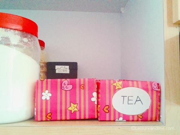 Repurposed Milk Cartons as Pantry Organizers