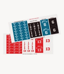 Custom Hockey Equipment Labels from Mabel's Labels+25% off coupon