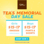 Tea Collection's Memorial Day Sale