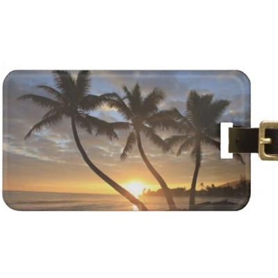 Summer Travel Gift Ideas-A custom luggage tag