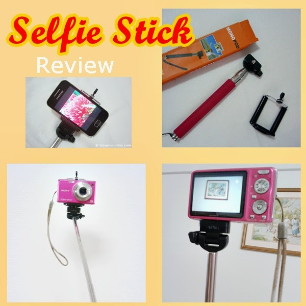 selfie stick monopod review leisure and me. Black Bedroom Furniture Sets. Home Design Ideas
