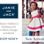 25% off at Janie and Jack This Weekend Only Sale