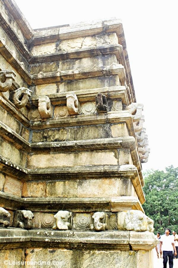 Vahalkada at Mirisawetiya -Anuradhapura Sri Lanka