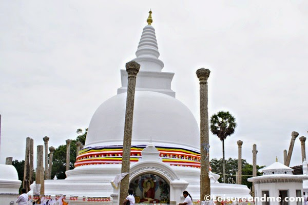 Thuparamaya-The first Stupa of Sri Lanka