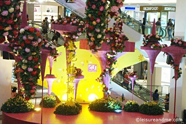 Chinese New Year Decorations At City Square Mall Johor