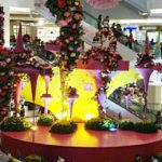 Chinese New Year Decorations at City Square Mall Johor Bahru
