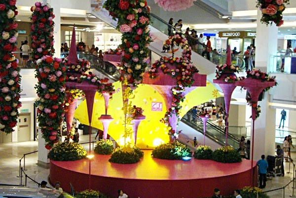 Chinese new year decorations at city square mall johor for Home decor johor bahru