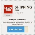 Get free shipping on all items from lampsplus.com