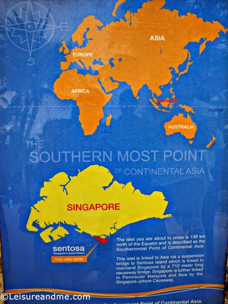 The Southernmost Point of Continental Asia, Singapore