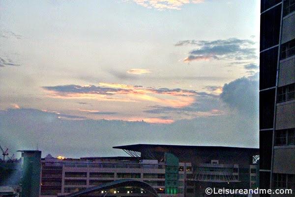 Sunrise at Johor Bahru