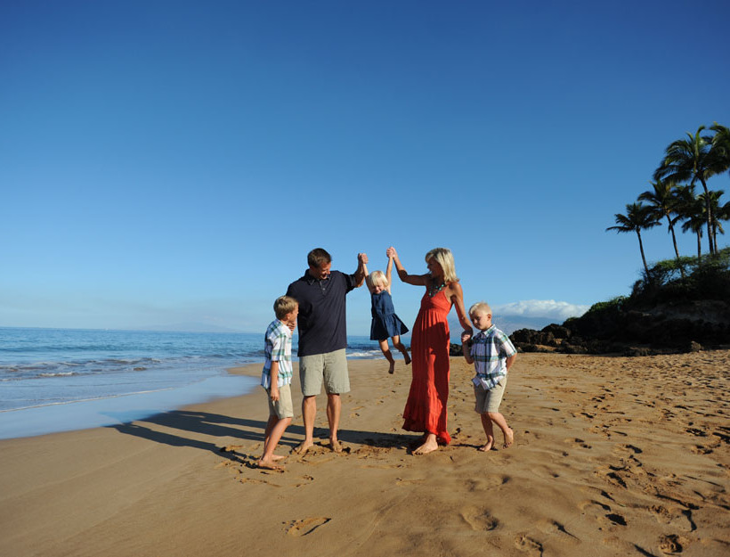 Family Portraits in Maui,Hawaii