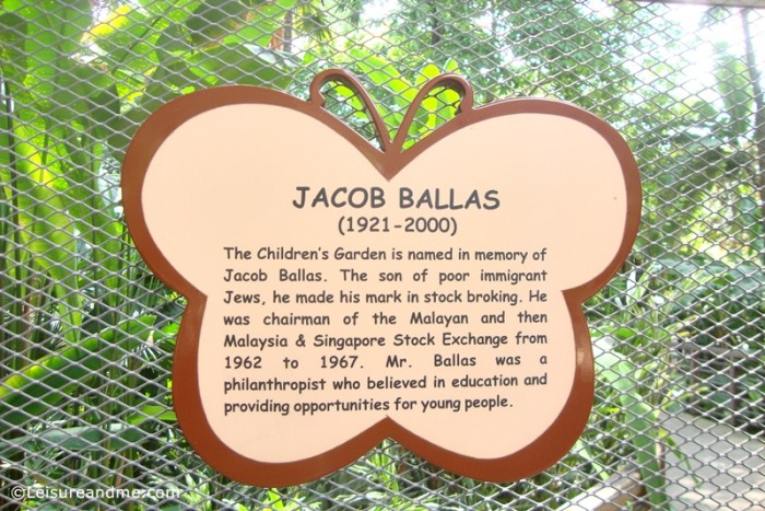 Jacob Ballas Children's Garden in Singapore Botanic Gardens