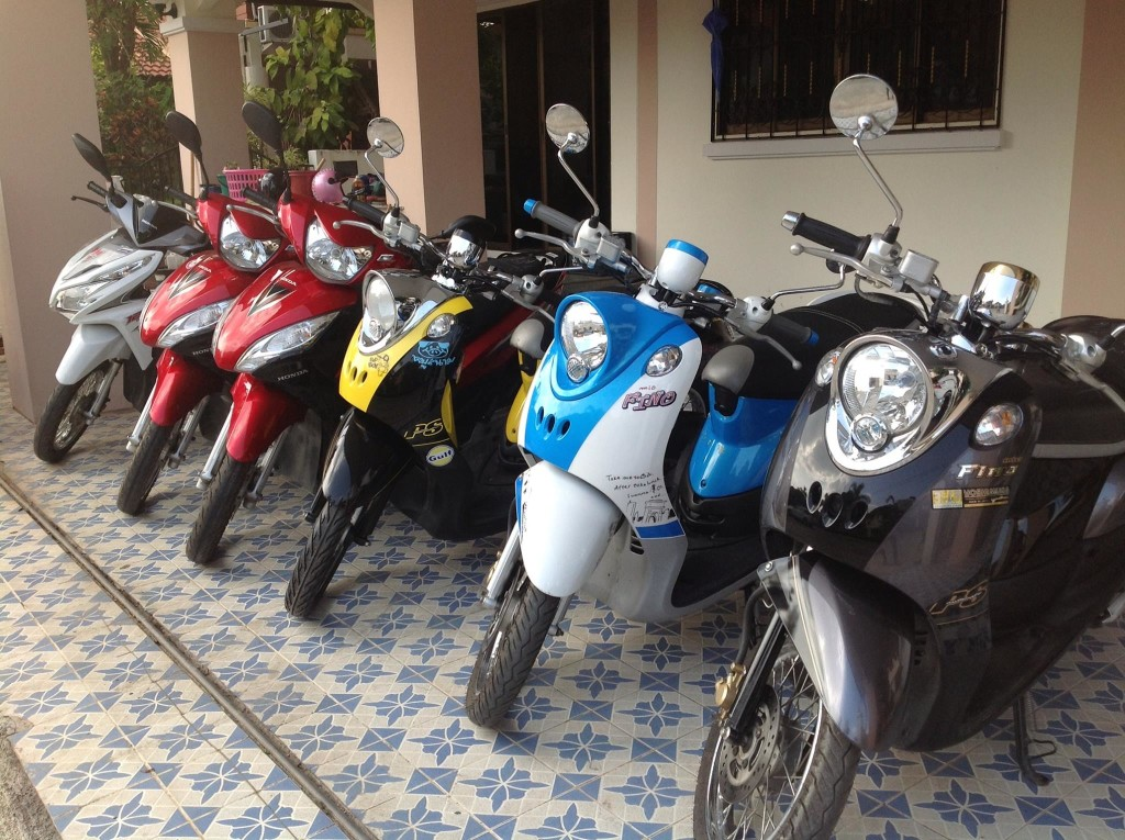Motor-cycle-rent-Chiang-Mai