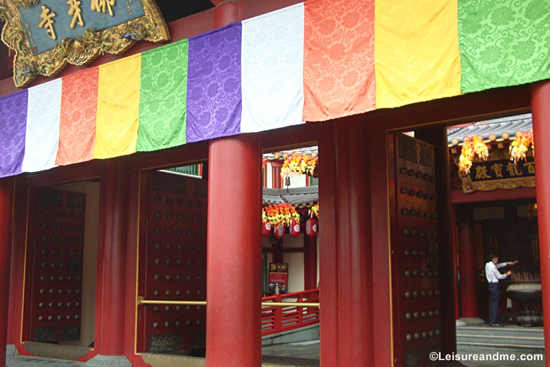 Mountain Gate-Tooth relic temple