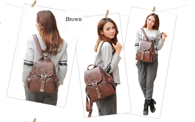 Photo Credit: http://www.omgnb.com/waterproof-flap-buckle-magnetic-snap-brown-pvc-backpacks-for-women-p23254