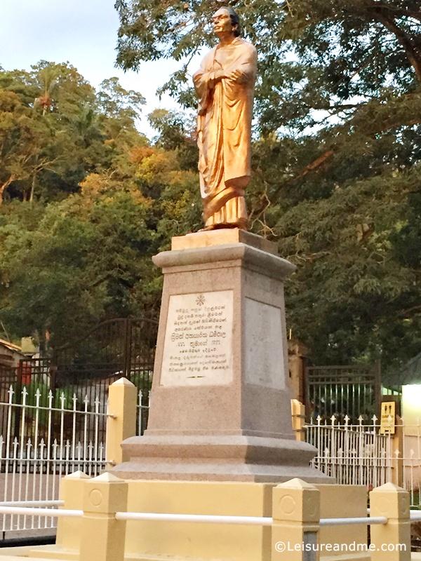 anagarika dharmapala statue kandy