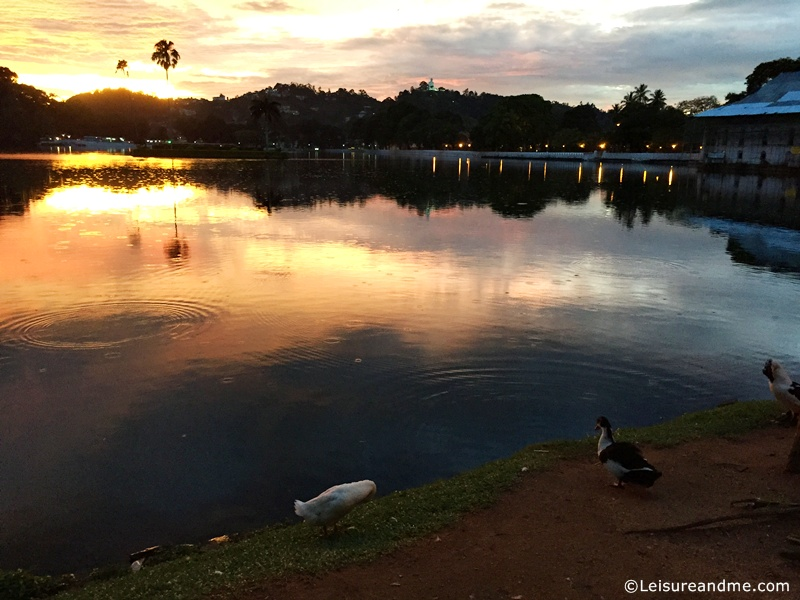 Kandy Lake-sunset