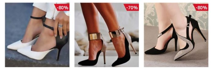 Get prepared for Holidays with Shoespie Stiletto High Heels