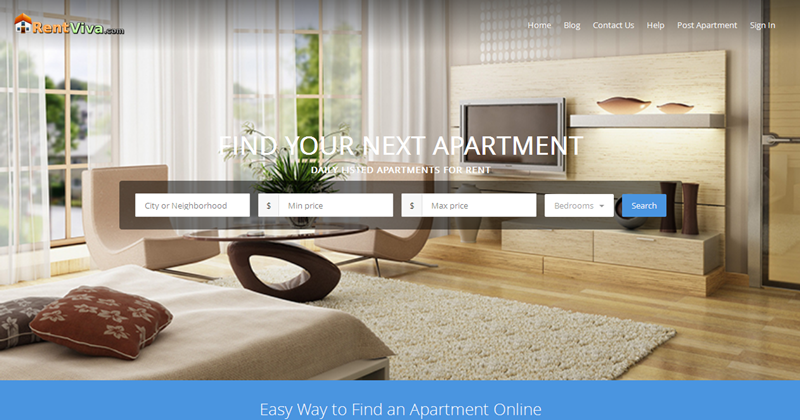 Easy Way to Find an Apartment Online-Rentviva.com