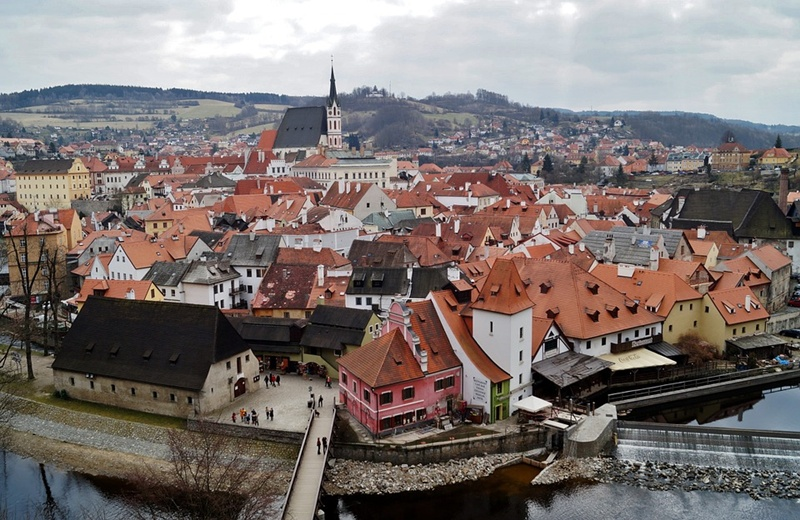 transfer from Prague to Cesky Krumlov