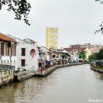 Walk Along the Melaka River – Malaysia