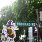 Leisure Walk Along the Orchard Road Singapore