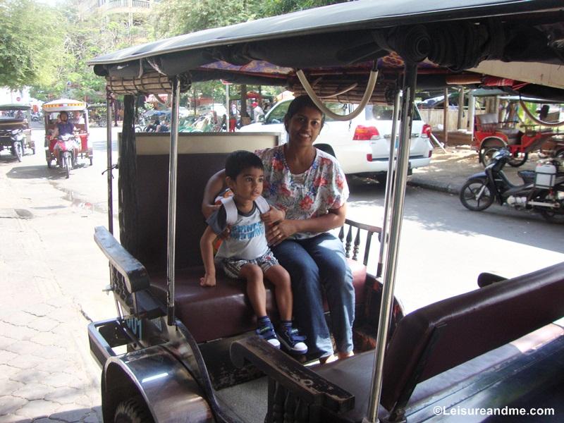Phnom Penh itinerary-tuk-tuk-rides
