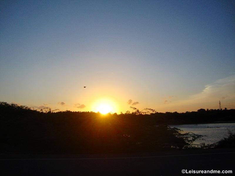 Sri Lanka : Watching Sunset at Hambantota