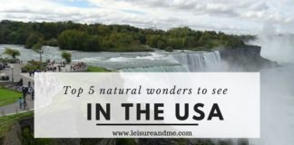 Top 5 natural wonders to see in the USA