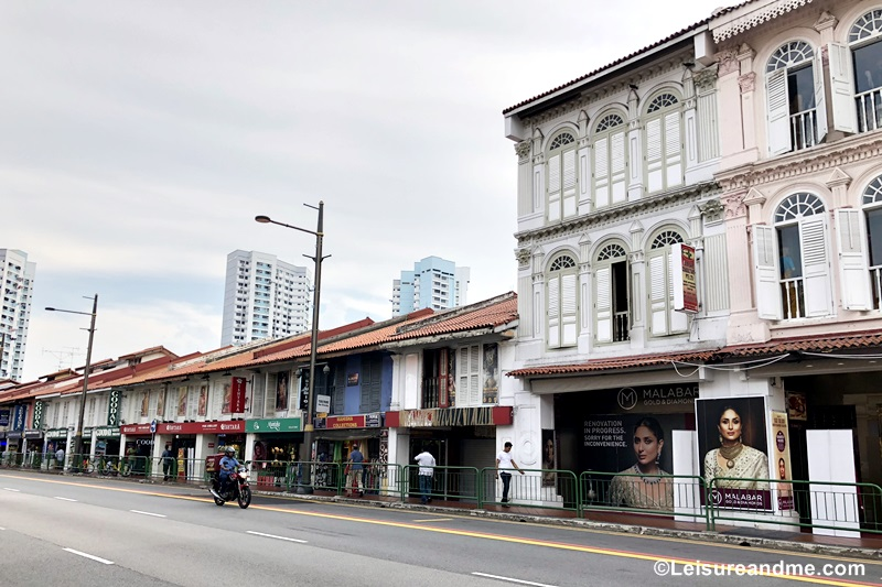 Walking Along the Streets of Little India Singapore