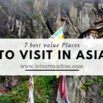 7 Best Value Places to Visit in Asia