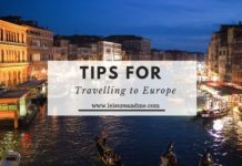 Tips for Travelling to Europe