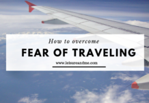 How to overcome Fear of Traveling