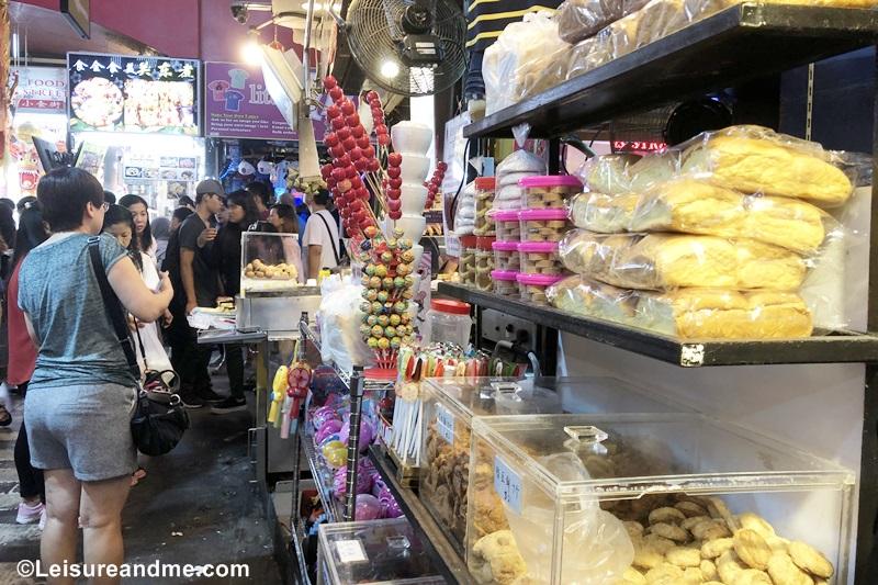Shopping at Singapore Bugis Street