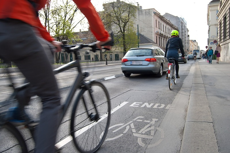 Safe While Biking