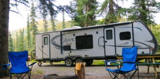 what size generator for travel trailer