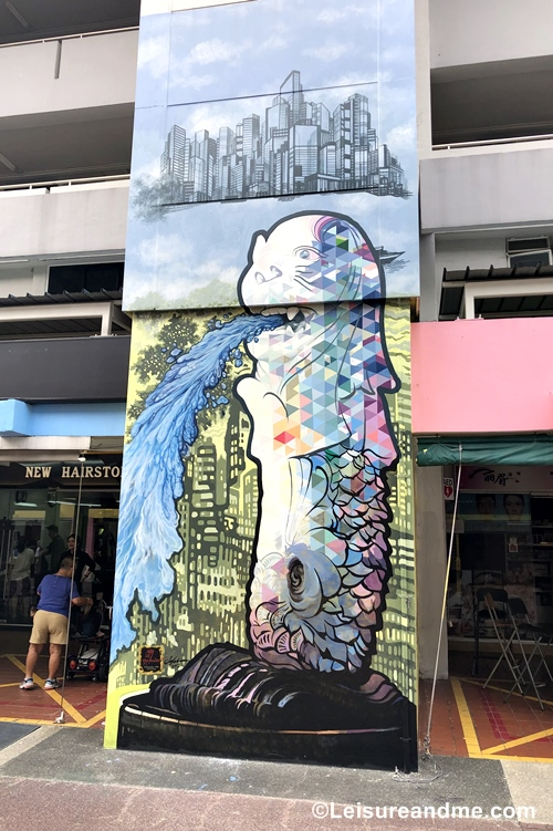 Street Art in Ang Mo Kio - Singapore