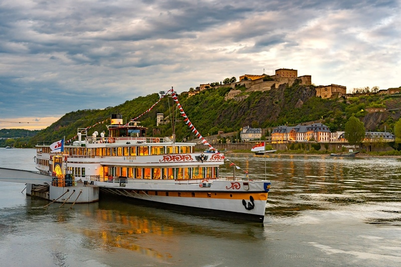River Rhine cruise