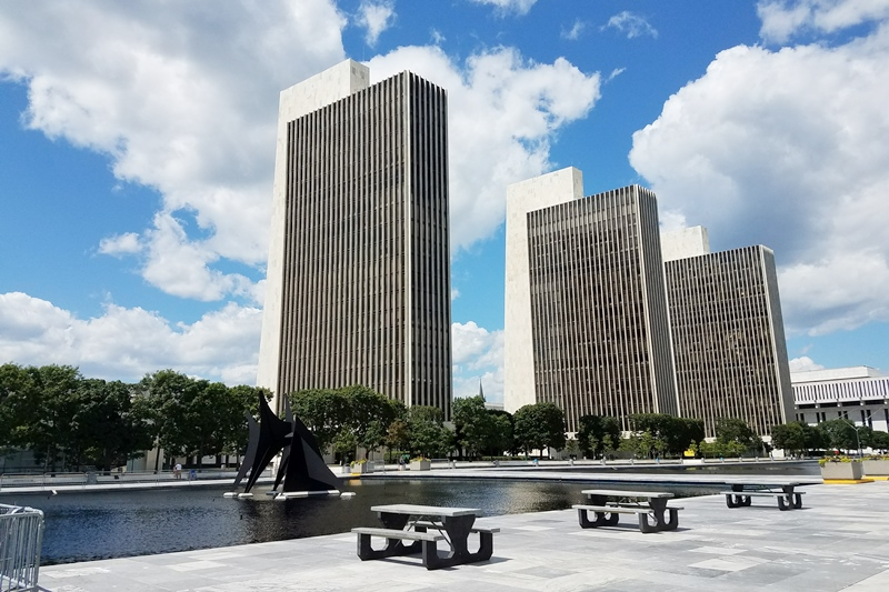 Empire State Plaza-Albany