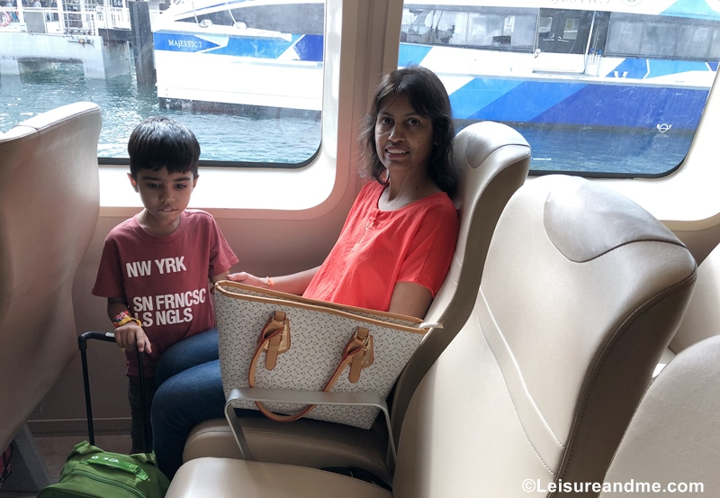 journey with Horizon Fast Ferry