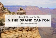Top 3 Things To Do in The Grand Canyon