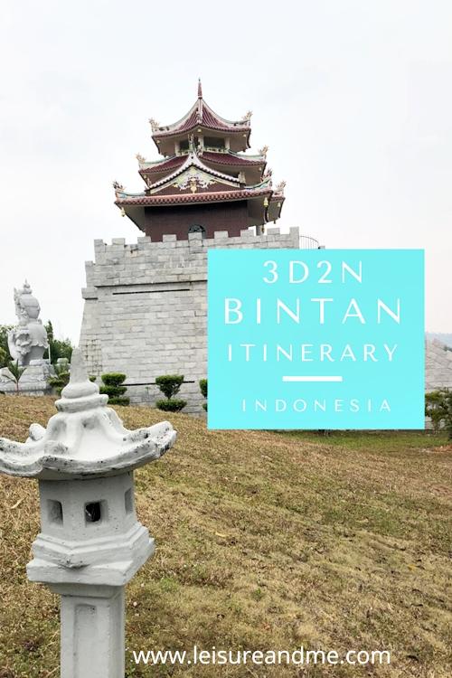 3D2N Bintan itinerary