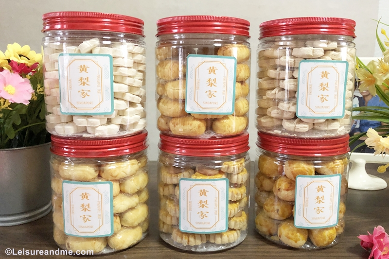 CNY  Cookies from Pineapple tart Singapore