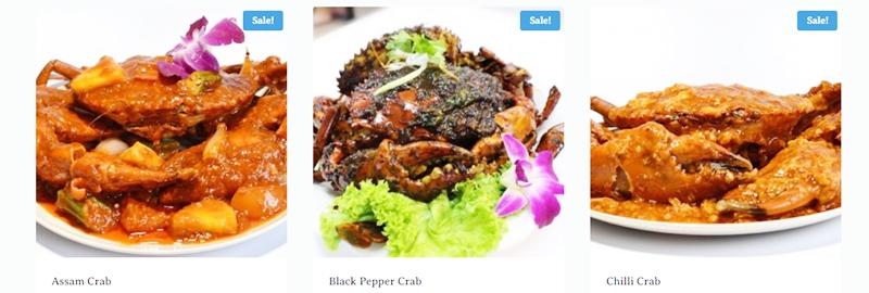Sri Lankan Crabs Singapore